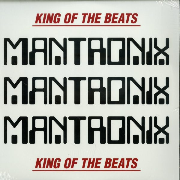 Mantronix - King of the Beats (1985-1988) (Ltd. Red&White 2LP)
