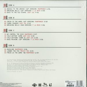 Mantronix - King of the Beats (1985-1988) (Ltd. Red&White 2LP) (Back)