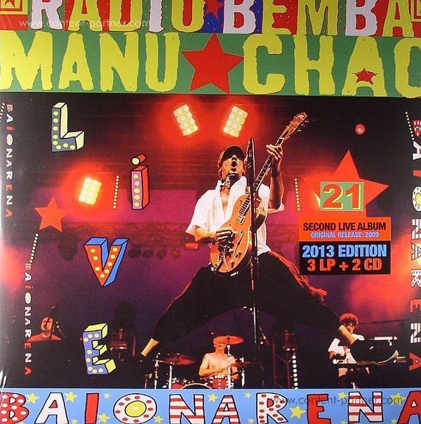 Manu Chao - Live Baionarena (3LP+CD)