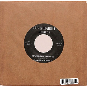 Manuel B. Holcolm - I Stayed Away Too Long/Kick Out (Instrumental) (Back)