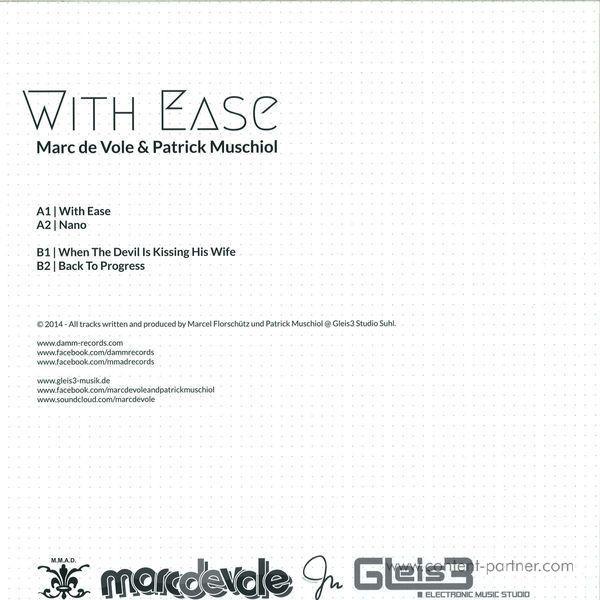 Marc De Vole & Patrick Muschiol - With Ease (Back)