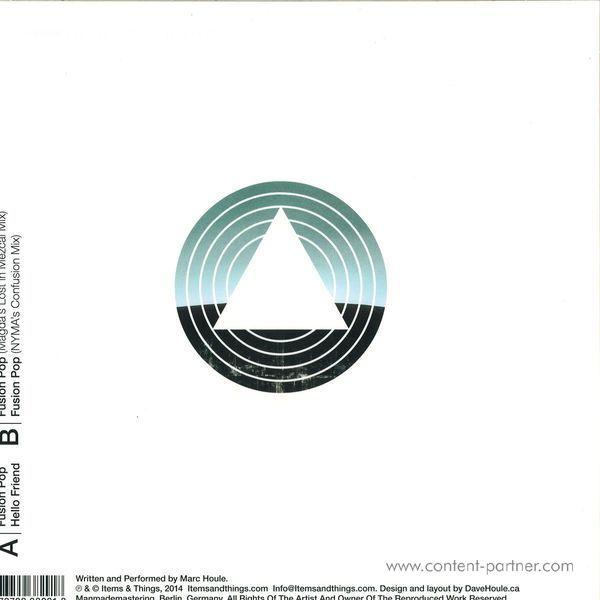 Marc Houle - Fusion Pop (Back)