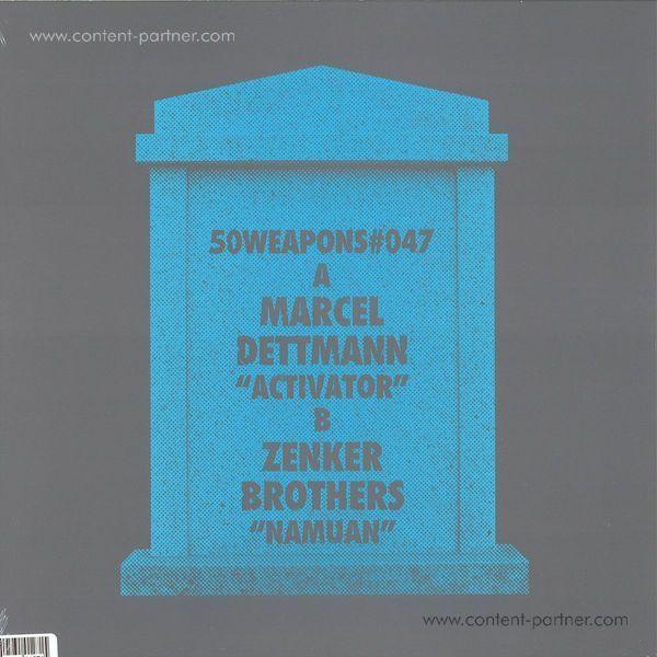 Marcel Dettmann/Zenker Brothers - Activator/Namuan (12''/180g) (Back)