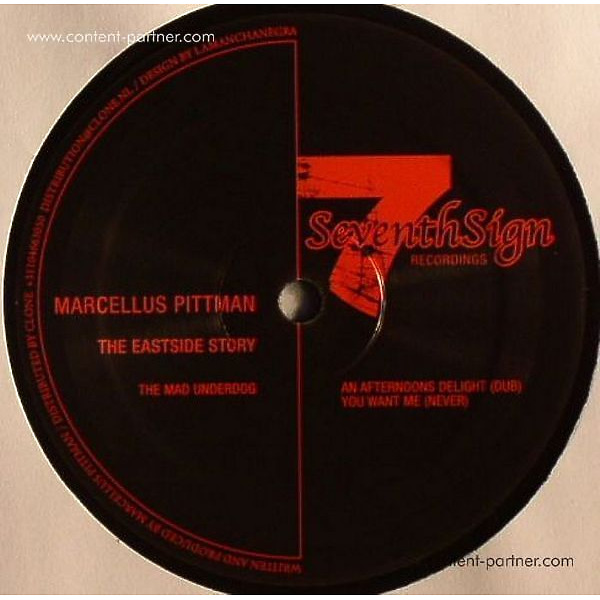 Marcellus Pittman - The Eastside Story Ep