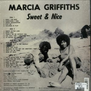 Marcia Griffiths - Sweet And Nice (Rem.+ Expanded 2LP Reissue) (Back)