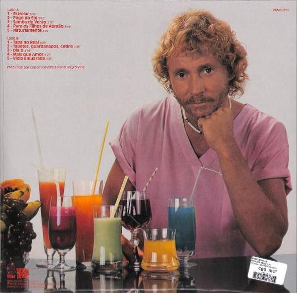 Marcos Valle - Marcos Valle (1983) (180g Black Vinyl LP) (Back)