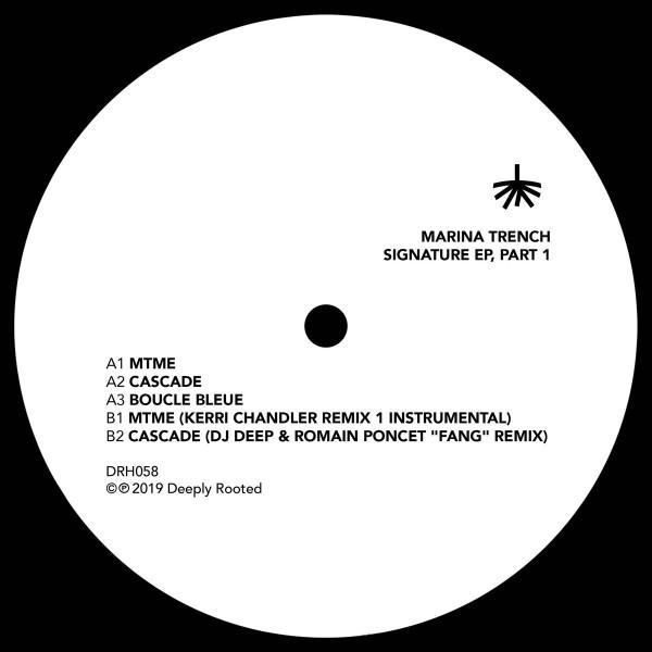 Marina Trench - Signature EP 1 (Kerri Chandler Remix) (Back)