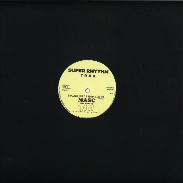 Mark Archer, Shadow Child, Masc - Non Stop EP (Back)