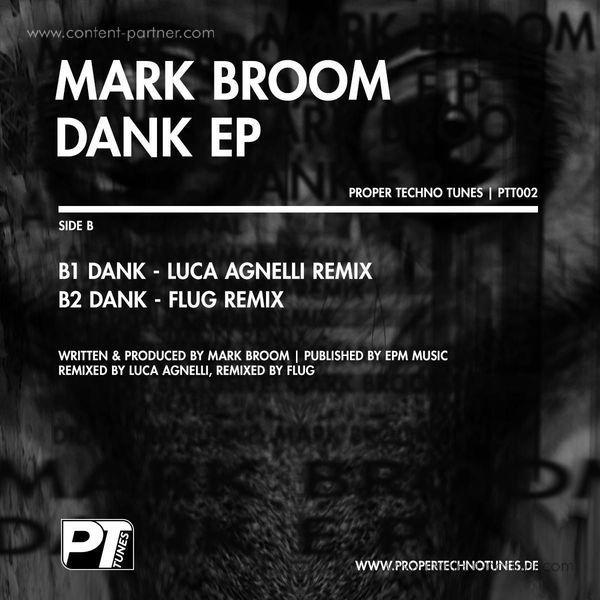 Mark Broom - Dank EP (Back)