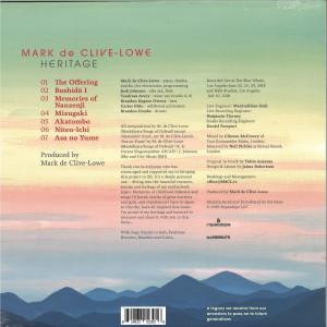 Mark De Clive Lowe - Heritage II (LP) (Back)