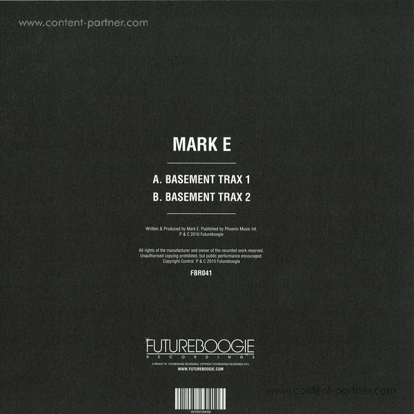 Mark E - Basement Trax (Back)