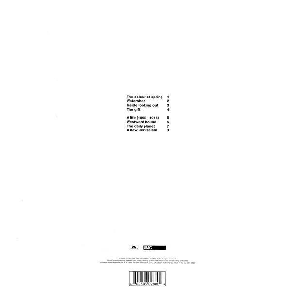 Mark Hollis - Mark Hollis (Vinyl LP) (Back)