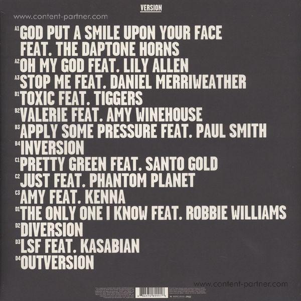 Mark Ronson - Version (Reissue 2015) (Back)