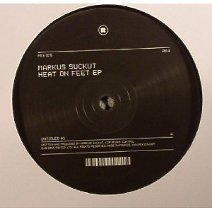 Markus Suckut - Heat On Feet EP (Back)