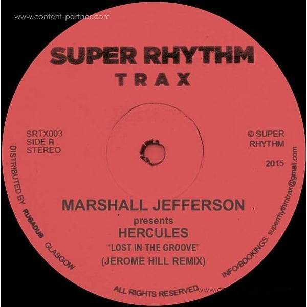 Marshall Jefferson /Dancer/ Jerome Hill - Lost In The Groove (Back)