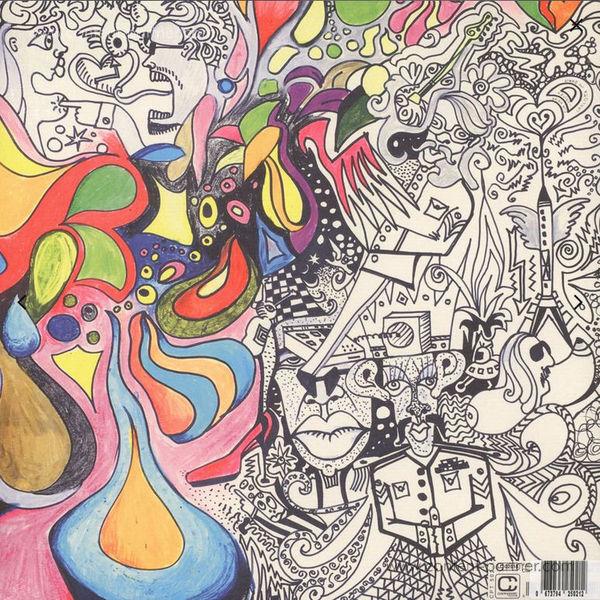 Marsmobil - Fairytales Of The Supersurvivor (LP) (Back)