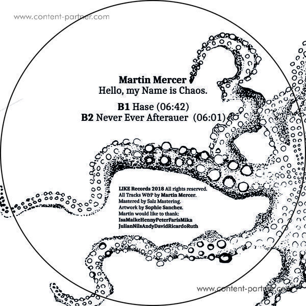 Martin Mercer - Hello My Name Is Chaos (Back)