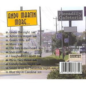 Martin,Andy - More... (Back)