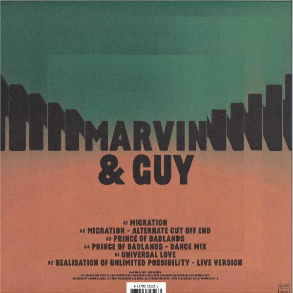 """Marvin & Guy - Migration (12"""" Vinyl) (Back)"""