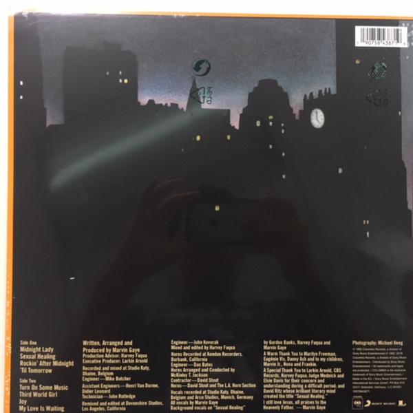 Marvin Gaye - Midnight Love (LP) (Back)