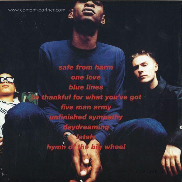 Massive Attack - Blue Lines (LP) (Back)