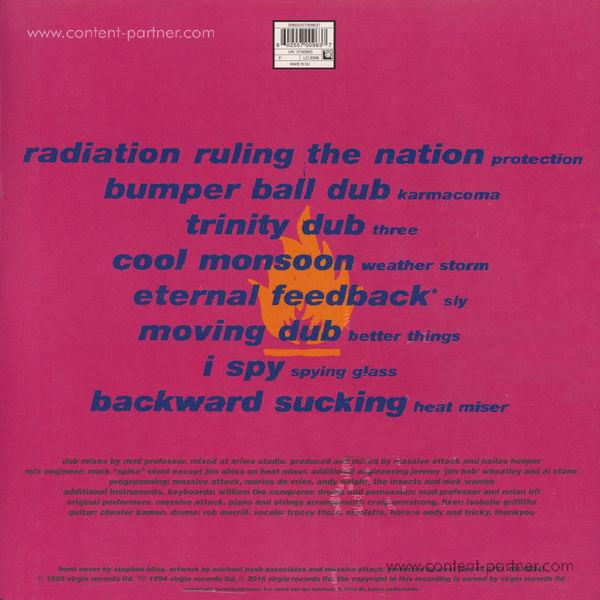 Massive Attack - No Protection (LP) (Back)