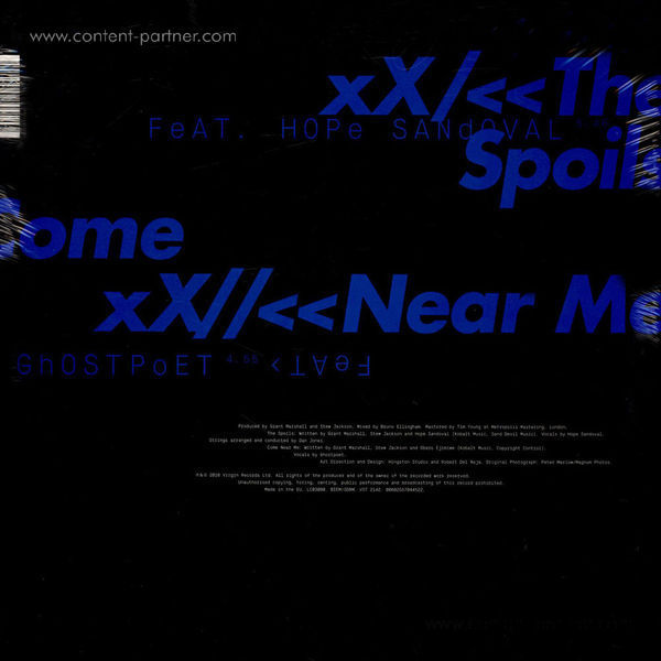 Massive Attack - The Spoils / Come Near Me (Back)