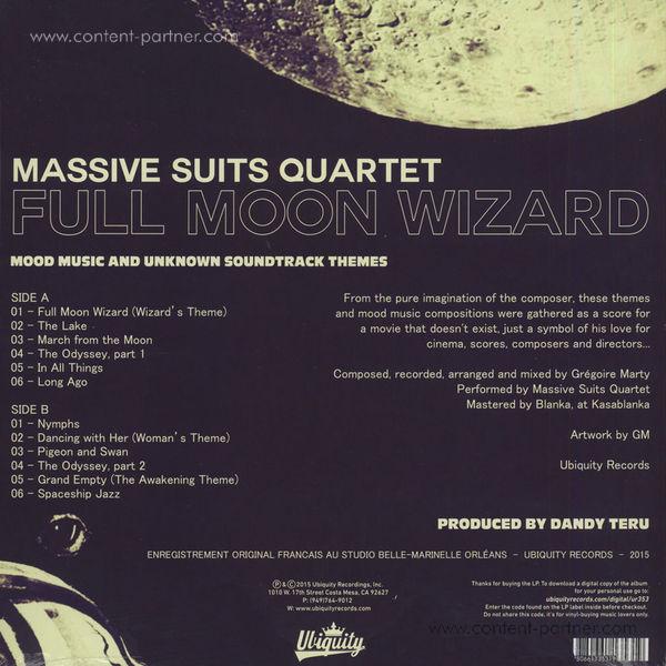 Massive Suits Quartet - Full Moon Wizard (Back)
