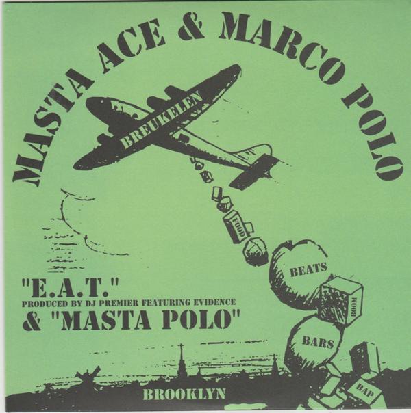"Masta Ace & Marco Polo - E.A.T. / Masta Polo (Ltd. 7"" Repress)"