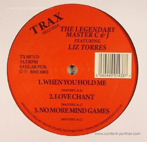 Master C & J - The Legendary Master C & J Feat Liz Torres (Back)