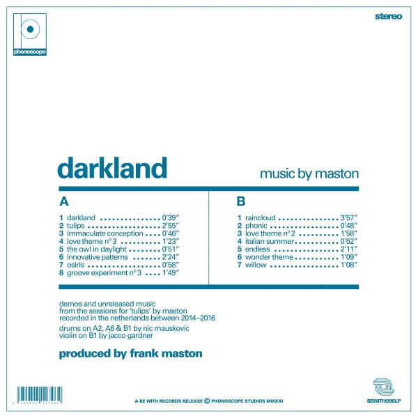 Maston - Darkland (140g LP) (Back)