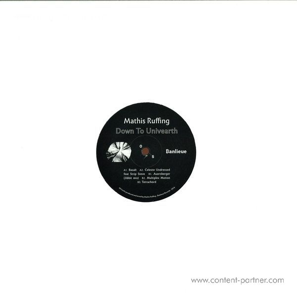 Mathis Ruffing - Down to the Univearth EP (Back)