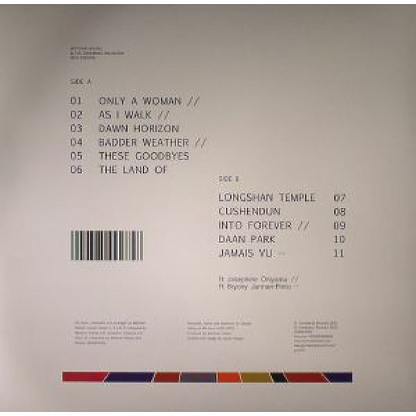 Matthew Halsall & The Gondwana Orchestra - Into Forever(LP) (Back)