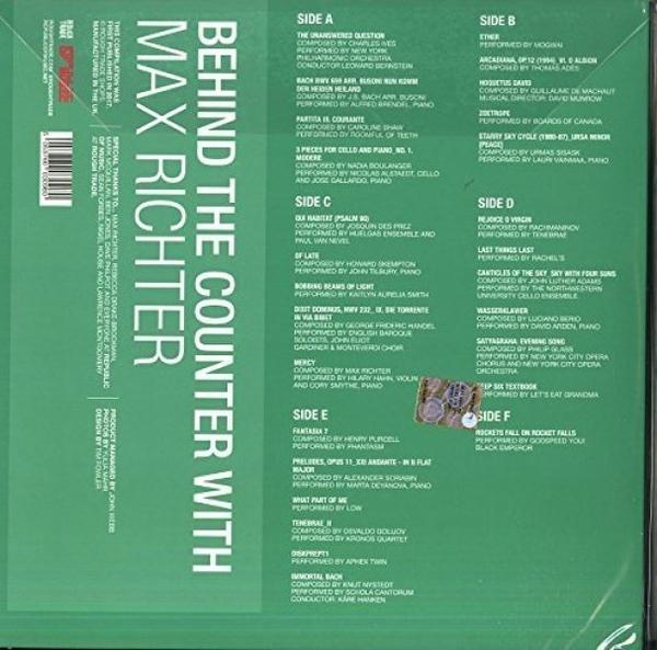 Max Richter - Behind The Counter (Ltd. Green 3LP+7