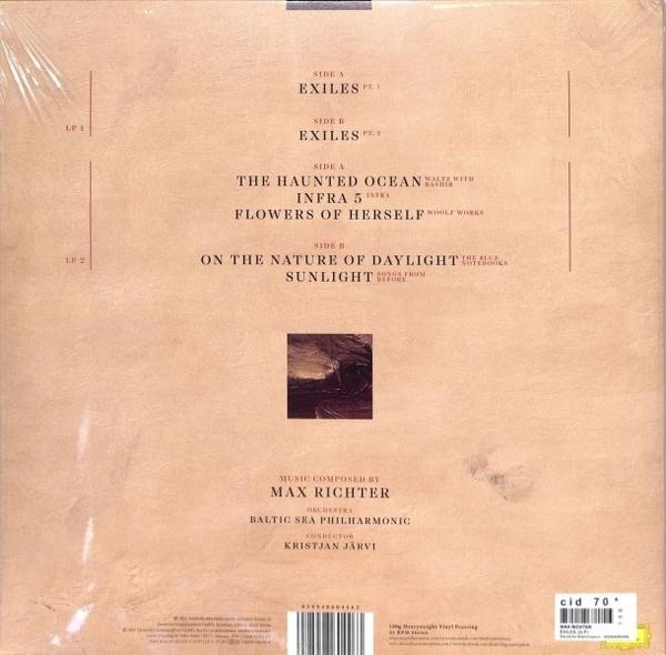 Max Richter - Exiles (2LP) (Back)