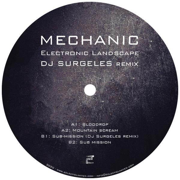 Mechanic - Electronic Landscape (DJ Surgeles Remix) (Back)