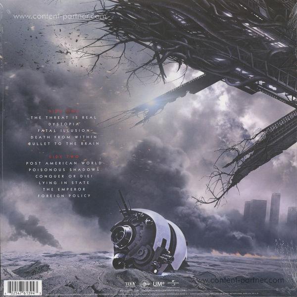 Megadeth - Dystopia (Picture Disc Vinyl) (Back)