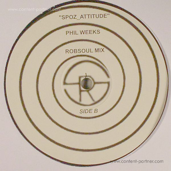 Mehdispoz - Spoz Attitude (Phil Weeks Rmx) [re-issue