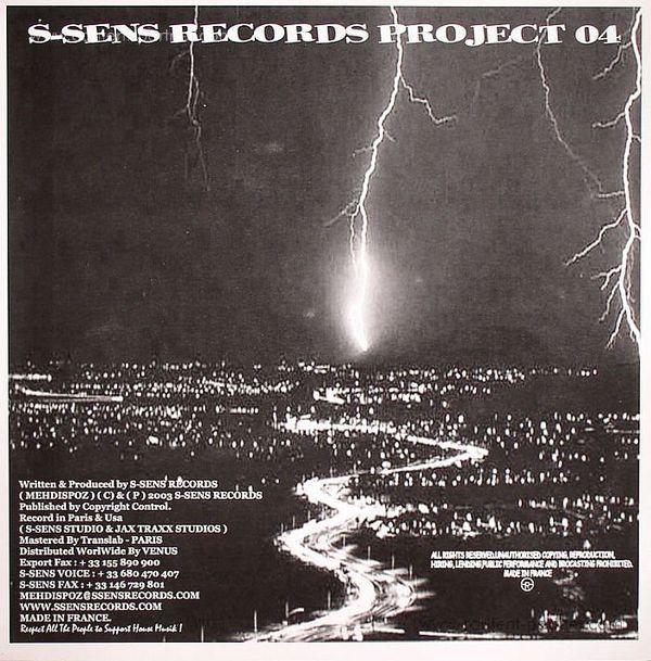 Mehdispoz - Street Sax / Underground Vibe (Back)