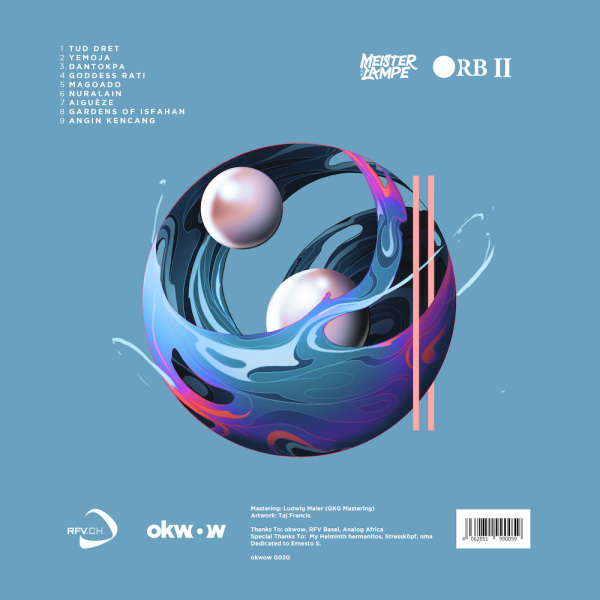 Meister Lampe - Orb II (Limitiertes Vinyl) (Back)
