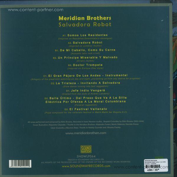 Meridian Brothers - Salvadora Robot (Back)