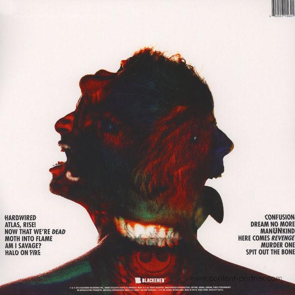 Metallica - Hardwired...To Self-Destruct (2LP) (Back)