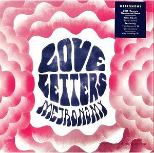 Metronomy - Love Letters (Embossed 5mm Sleeve+cd)