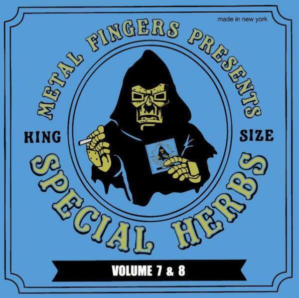 Mf Doom - Special Herbs Vol. 7&8 (2LP 2021 Repress)