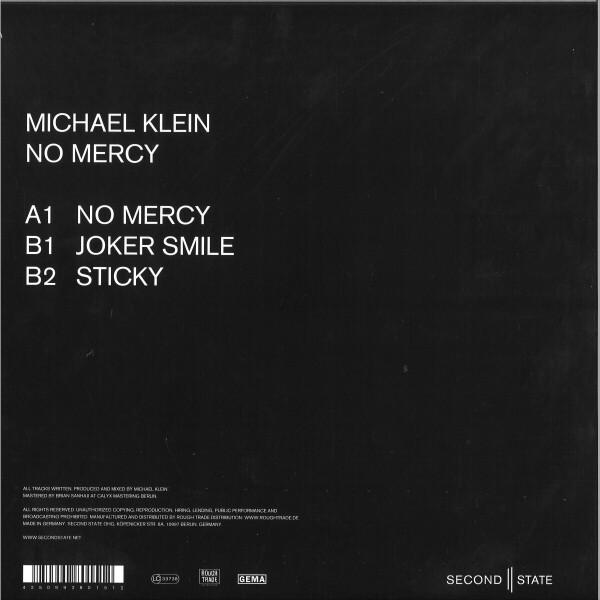 Michael Klein - No Mercy (Back)