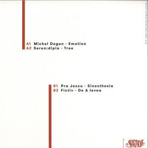 Michel Degen, Seren:dipia, Pra Jescu, Fictiv - SANGUINA 002 (Back)