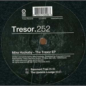 Mick Huckaby - The Tresor EP (Repress) (Back)