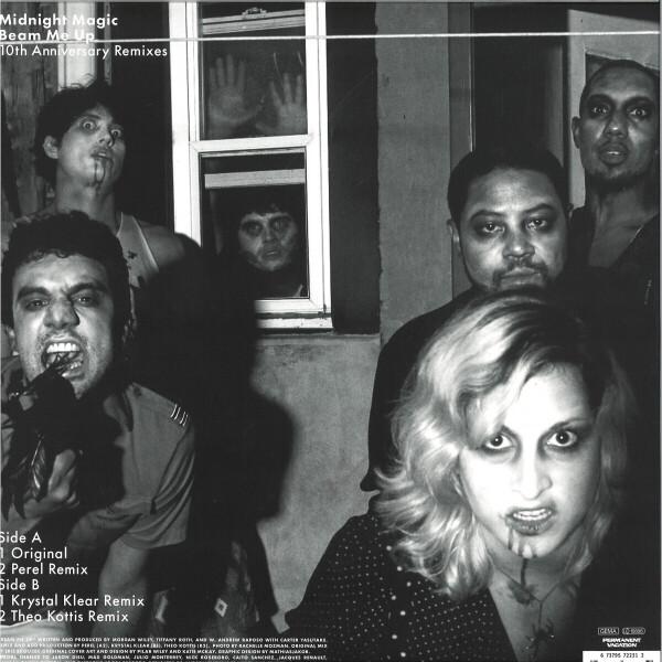 Midnight Magic - Beam Me Up (10th Anniv. Remixes) (Back)