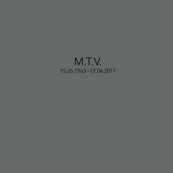 Mika Vainio - M.T.V. 15.05.63 - 12.04.2017