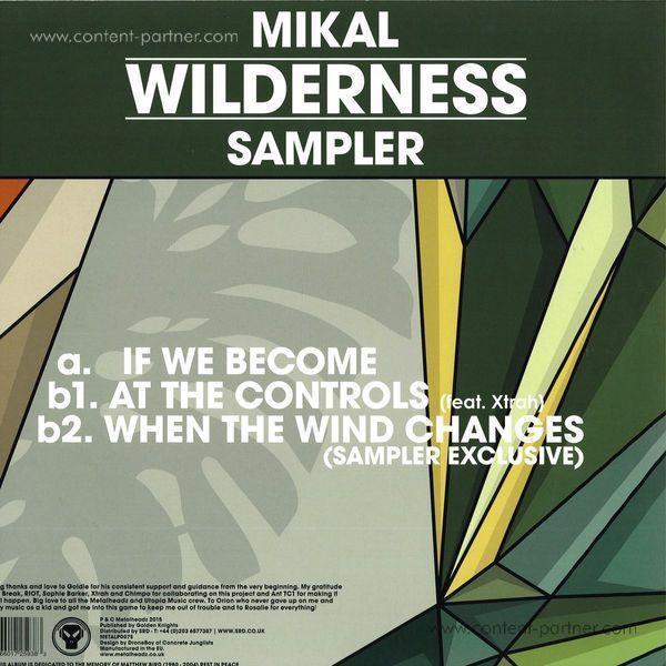Mikal - Wilderness Album Sampler (Back)